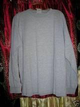 Puma Gray Long Sleeve Jersey Top M - $5.00