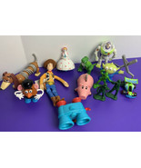 Toy Story Original Burger King Kids Meal Toys Lot 1995 Disney Pixar Wood... - $29.69