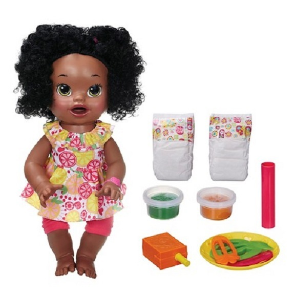 Baby Alive Interactive Talking Baby Doll Super Snacks Snacking