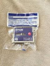 Epson T0483 Magenta Inkjet Cartridge GENUINE NEW Factory Sealed R200 - $9.70