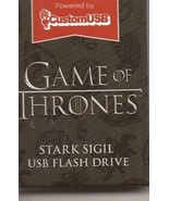 Loot Crate Exclusive Game Of Thrones Stark Sigil USB Flash Drive Brand New - $4.95