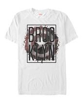 Marvel Captain America Brooklyn Splatter Mens Graphic T Shirt - $10.99