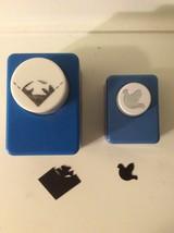 Lot of 2 Scrapbook Craft Paper Hole Punch -Dove, & 1 Corner - $5.00
