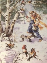 Mimi Jobe Frosty Chorus Knowles Collector Plate A Season For Song - $9.46