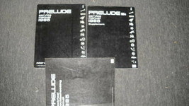 1985 Honda Prelude Servizio Negozio Officina Riparazione Manuale Set W E... - $43.99