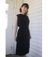 60s Black Dress Jonathan Logan Sleeveless Vinta... - $49.99