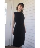 60s Black Dress Jonathan Logan Sleeveless Vinta... - $49.99