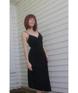 90s Black Dress Sleeveless Trixxi Vintage 1990s XS - $24.00