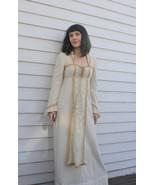60s Gunne Sax Ivory Lace Dress Renaissance Prai... - $128.00