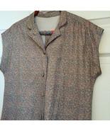 Floral Print Dress Casual Vintage 70s 1970s Ret... - $23.00