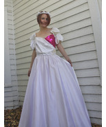 80s Prom Dress Formal Party Pink Sequins 1980s Vintage Alfred Angelo 13 S - $69.99
