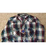 Vintage Wrangler Western Shirt Mens Plaid New O... - $19.99