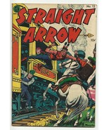 Golden Age Straight Arrow #13 features Red Hawk by Bob Powell 4.5 very g... - $19.64