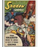Golden Age Shadow Comics Vol. 6 #6 - good+ 2.5 - Doc Savage - Nick Carter - $66.85