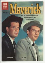 Maverick #9 - James Garner & Jack Kelly photo cover - very fine+ 8.5 - $60.48