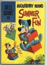 Dell Giant #31 Huckleberry Hound Summer Fun - beautiful fine 6.0 copy Yo... - $37.44