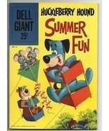 Dell Giant #31 Huckleberry Hound Summer Fun - beautiful fine 6.0 copy Yogi Bear - $37.44