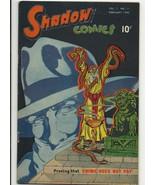 Golden Age Shadow Comics Vol. 7 #11 - 6.5 fine+ Bob Powell art - Doc Savage - $191.04