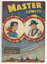 Golden Age Master Comics #63 Captain Marvel Jr. - Bulletman - Nyoka - Radar - $48.00