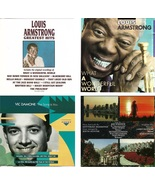 Lot of 4 CDs Louis Armstrong Vic Damone And More - No Cases - $2.99