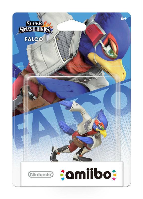 Super Smash Bros Series: Falco amiibo Figure (USA Edition) *NEW*