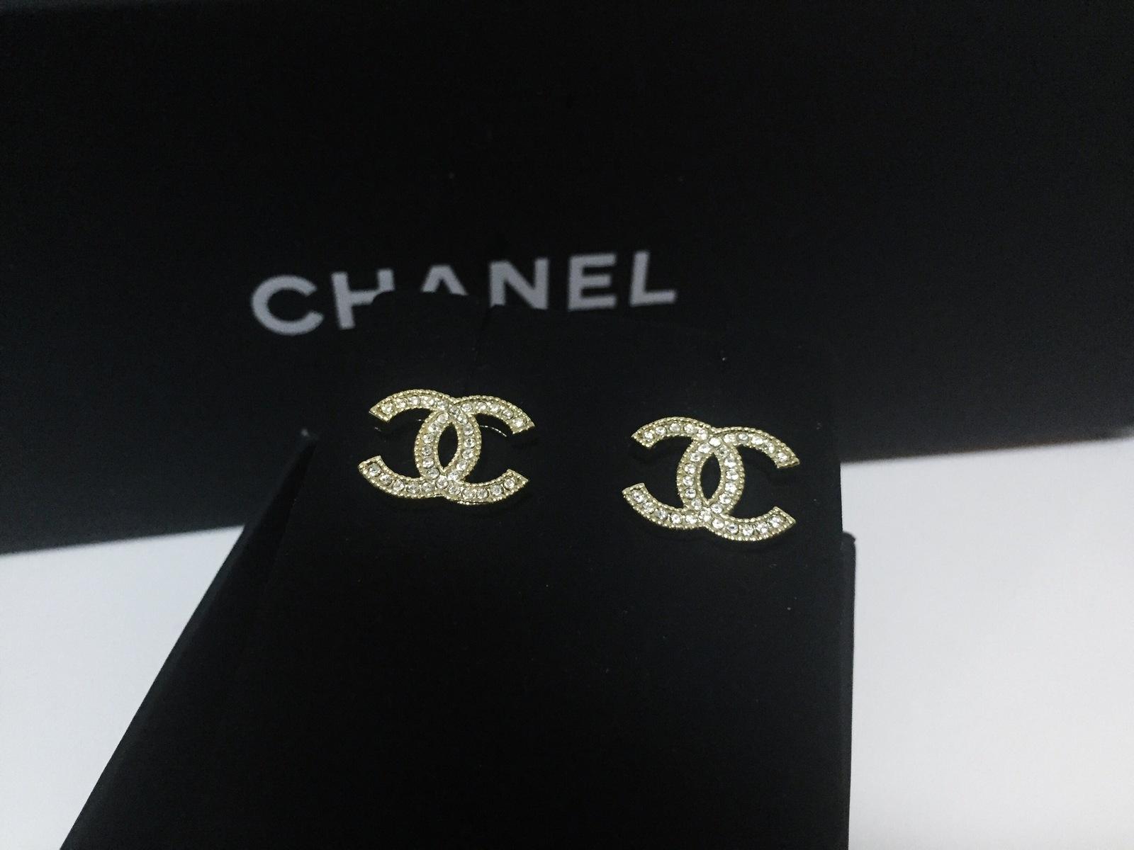 Chanel Diamond Cc Earrings Collection