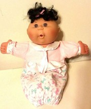 Mattel's First Edition Cabbage Patch Kid Doll Brown Eyes Baby Girl  1995 - $39.49