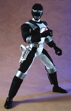 Power Rangers Operation Overdrive Japanese 12 Inch Action Figure Black Ranger