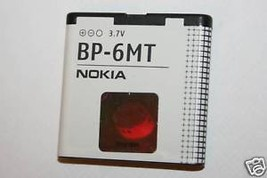 Oem Battery Bp 6 Mt Bp6 Mt For Nokia E51 N81 8 Gb N82 - $8.90