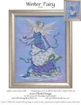 Winter Fairy JE014 cross stitch chart Joan Elliott Designs - $14.00