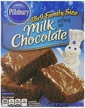 Pillsbury 13x9 Family Size Milk Chocolate Brownie Mix (Pack of 6) - $36.42