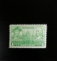 1936 1c John Paul Jones & John Barry, Army - Navy Scott 790 Mint F/VF NH - $0.99