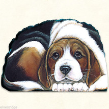Small Beagle puppy pupperweight paperweight USA made - $14.84