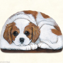 Small Cavalier Spaniel puppy pupperweight paperweight USA made