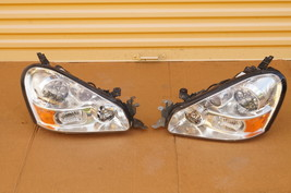 05-06 Infiniti Q45 F50 HID XENON HeadLight Lamps Set L&R image 13