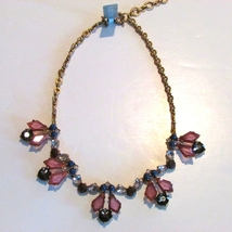J.Crew Womens TRANSLUCENT NECKLACE*~*Pink*~*NWT - $29.00