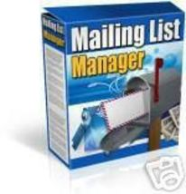 Mailing List Manager Email Script Software 4 php mysql - $1.99