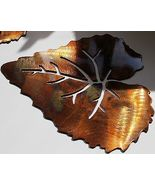 Single Aspen Leaf  Metal Wall Art Accent  by HGMW - $7.99