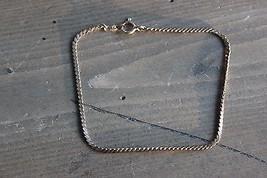 Vintage 7 inch 14k Yellow Gold Filled Bracelet - $17.82