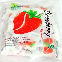 Haoliyuan Toffee Strawberry Thailand Chewy Bulk Candy Buffet 70G Desserts Sweets - $6.11