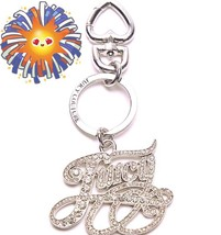 Juicy Couture Keychain Pave Juicy Charm purse d... - $44.99