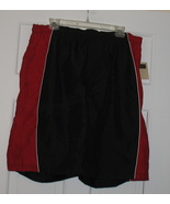 Men's Covington Red/Black Casual or Swim Shorts Trunks Size Lg NWT - $12.00