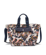 FossilDawson Floral Cotton Canvas With PVC Sheeting Magnetic Snap Tote &... - £191.61 GBP