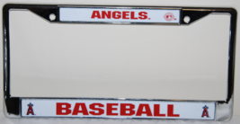 ANAHEIM ANGELS MLB CHROME LICENSE PLATE FRAME - $9.99
