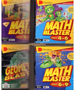 Math Blaster Series - Four program set For windows - $14.95