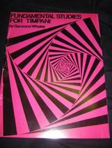 Fundamental Studies for Timpani - $5.93