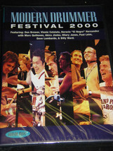 Modern Drummer Festival 2000 Drum Performance Interviews Lessons Dvd NEW - $29.69