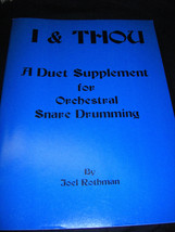 Book a Duet Supplement for Orchestral Snare Drumming - $5.45