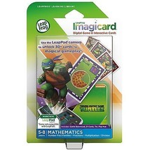 LeapFrog Imagicard Teenage Mutant Ninja Turtles Learning Game & Cards 5-... - $14.95