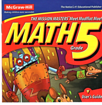 Math Grade 5 ( Software by McGraw-Hill ) - $2.95